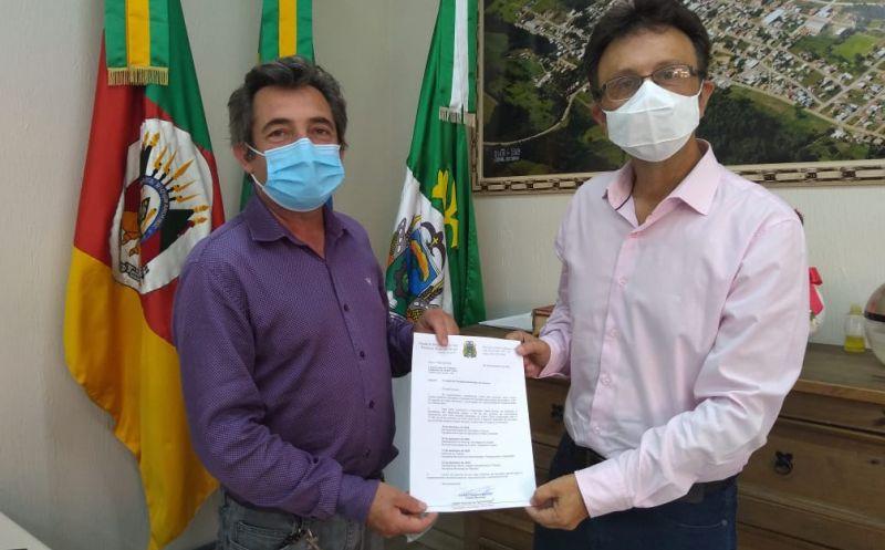 Foto de capa da notícia Iniciado processo de transição na administração municipal de Ipê