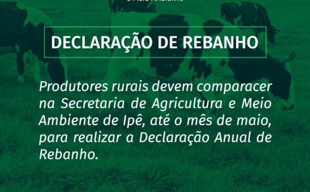 Foto de capa da notícia: Atenção criadores de gado