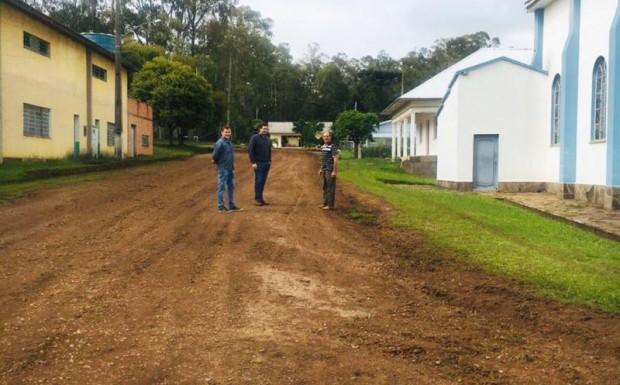 Foto de capa da notícia: São Paulino já recebe cuidados e melhorias!