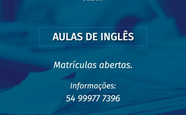 Foto de capa da notícia: Prefeitura realiza parceria para Aulas de Inglês no município