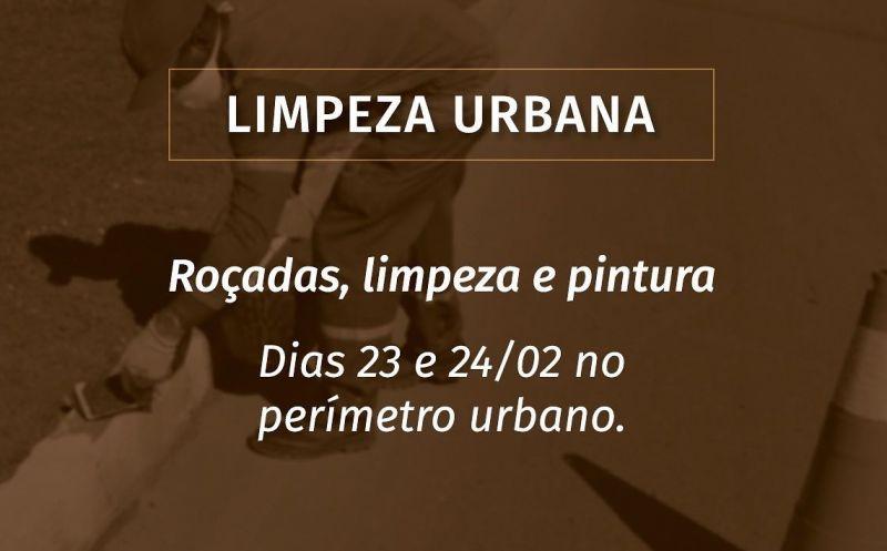 Foto de capa da notícia CIDADE RECEBE LIMPEZA URBANA