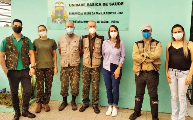 Foto de capa da notícia: BUGIOS SERÃO MONITORADOS HOJE EM IPÊ.
