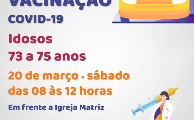 Foto de capa da notícia: ACONTECE NESTE SÁBADO O SEGUNDO DRIVE TRHU DE VACINAÇÃO!