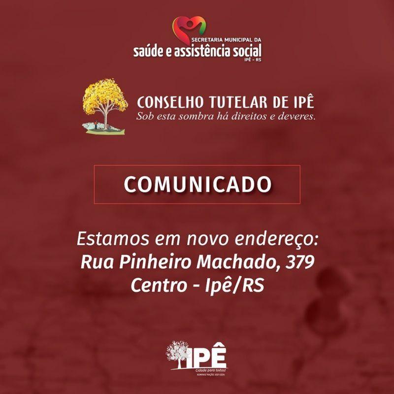 Foto de capa da notícia CONSELHO TUTELAR EM NOVO ENDEREÇO