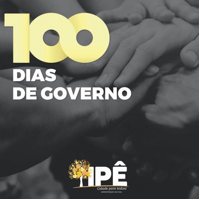 Foto de capa da notícia 100 DIAS DE GOVERNO