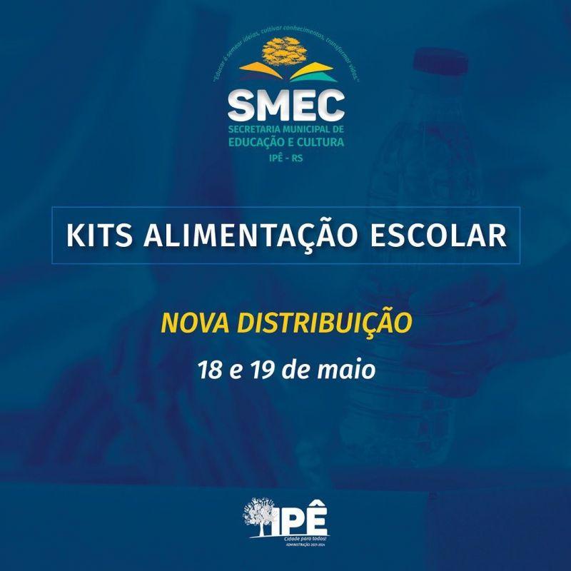 Foto de capa da notícia NOVOS KITS DE ALIMENTAÇÃO SERÃO DISTRIBUÍDOS