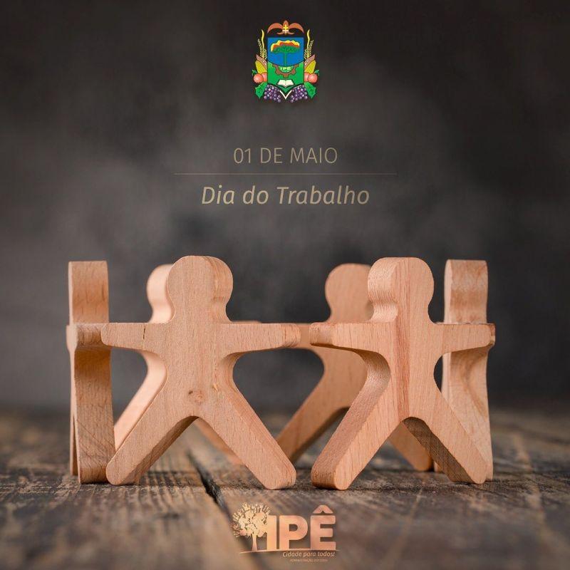 Foto de capa da notícia 1° DE MAIO, UMA CONQUISTA DE TODOS!