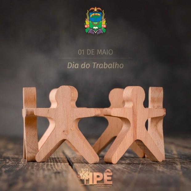 Foto de capa da notícia: 1° DE MAIO, UMA CONQUISTA DE TODOS!