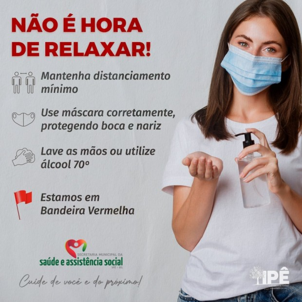 Foto de capa da notícia: AINDA NÃO É HORA DE RELAXAR