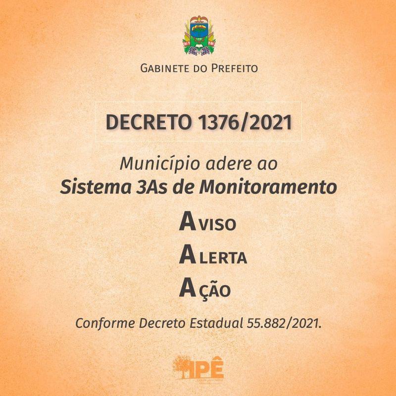 Foto de capa da notícia IPÊ ADERE AO NOVO SISTEMA DE MONITORAMENTO DA PANDEMIA E AULAS PRESENCIAIS SÃO MANTIDAS