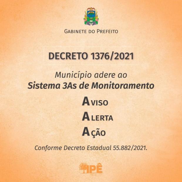 Foto de capa da notícia: IPÊ ADERE AO NOVO SISTEMA DE MONITORAMENTO DA PANDEMIA E AULAS PRESENCIAIS SÃO MANTIDAS