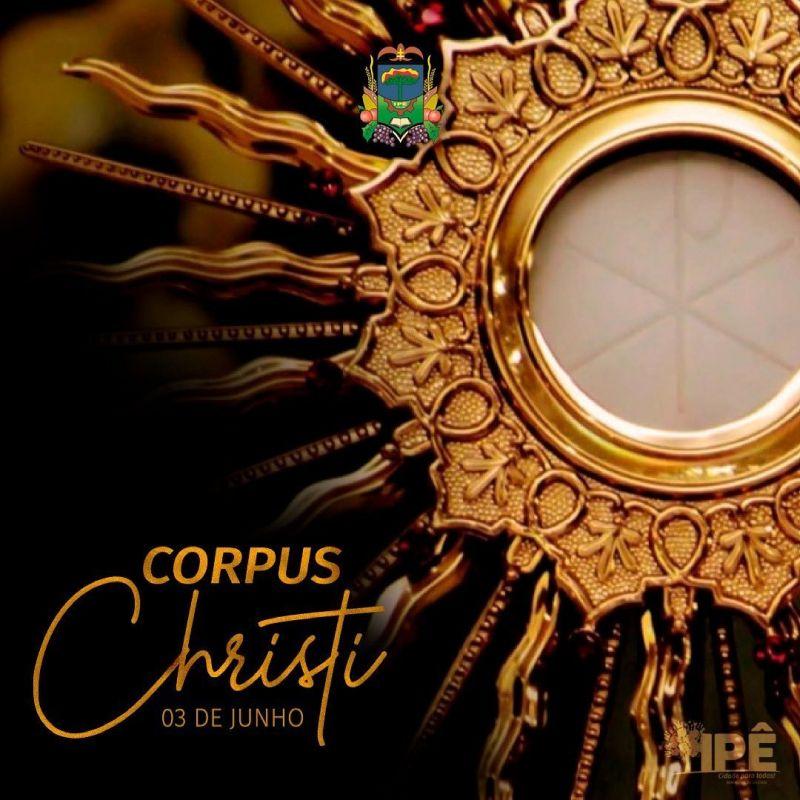 Foto de capa da notícia É CORPUS CHISTI
