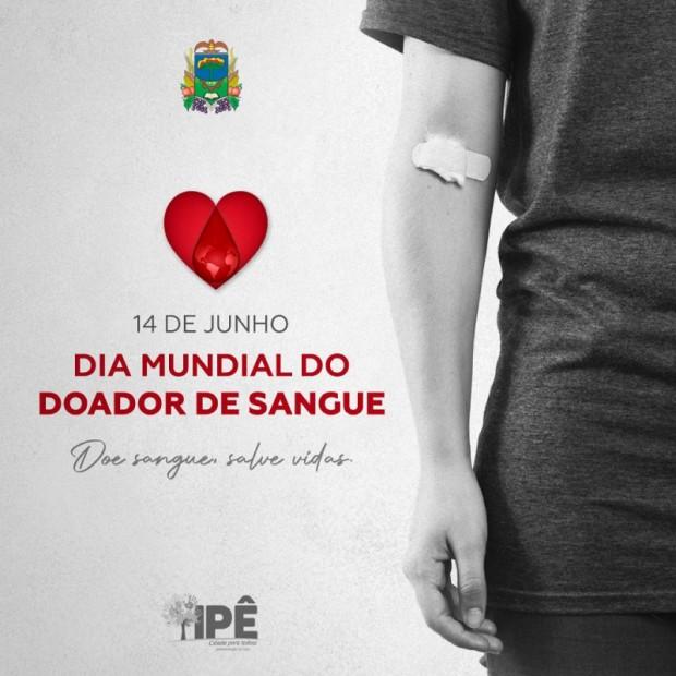 Foto de capa da notícia: DIA MUNDIAL DO DOADOR DE SANGUE