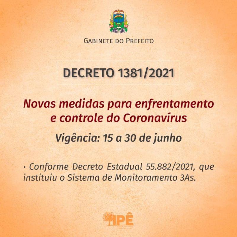 Foto de capa da notícia: NOVO DECRETO COM MEDIDAS DE COMBATE AO COVID-19 PASSA A VALER A PARTIR DE HOJE (15)