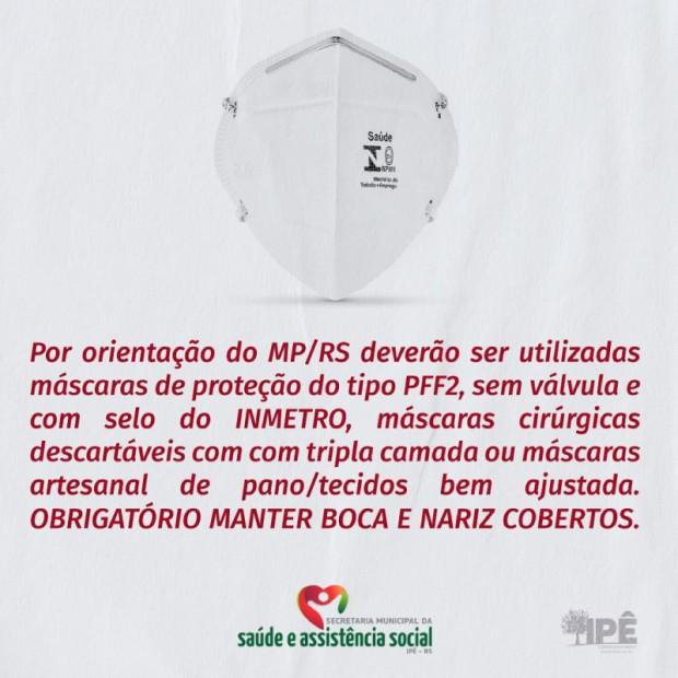 Foto de capa da notícia: USO CORRETO DA MÁSCARA É O PRINCIPAL ALIADO NA PROTEÇÃO CONTRA O CORONAVÍRUS