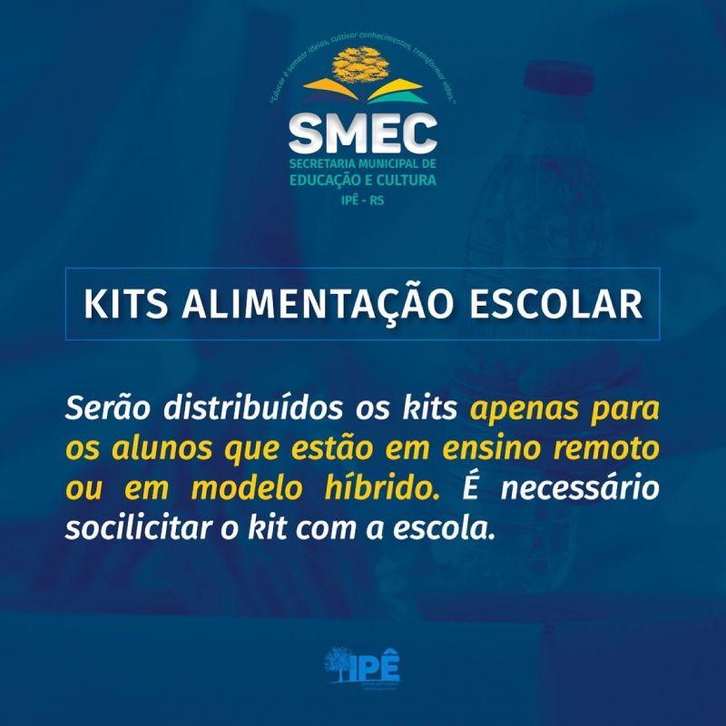 Foto de capa da notícia EDUCAÇÃO REALIZA NOVA DISTRIBUIÇÃO DE KITS DE ALIMENTAÇÃO ESCOLAR
