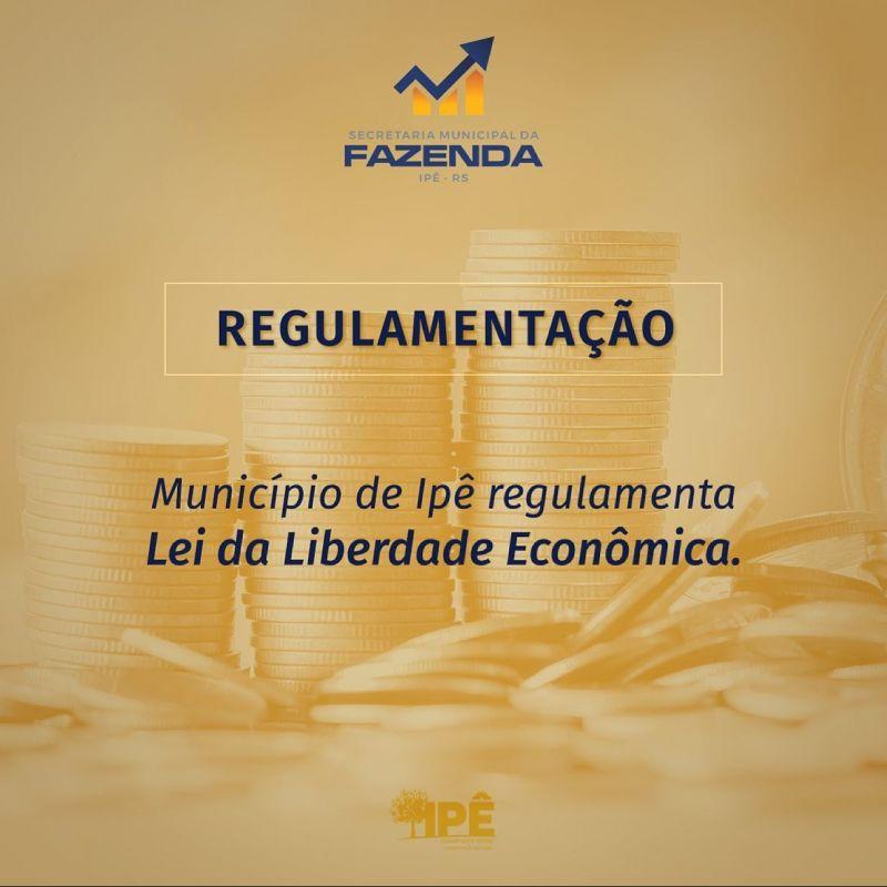 Foto de capa da notícia PREFEITURA REGULAMENTA LEI DE LIBERDADE ECONÔMICA