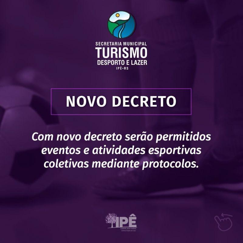 Foto de capa da notícia EVENTOS E ATIVIDADES ESPORTIVAS COLETIVAS SÃO RETOMADOS