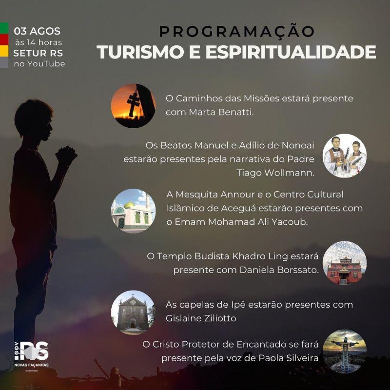 Foto de capa da notícia SECRETÁRIA DE TURISMO PARTICIPA DE LIVE ESTADUAL