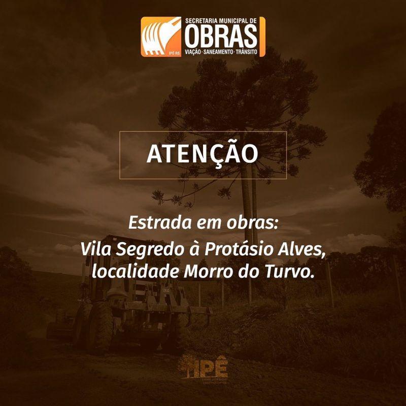 Foto de capa da notícia ATENÇÃO OBRAS NA PISTA!