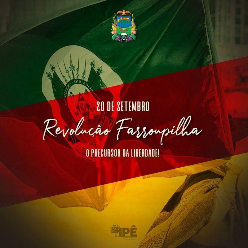 Foto de capa da notícia: FOI O 20 DE SETEMBRO