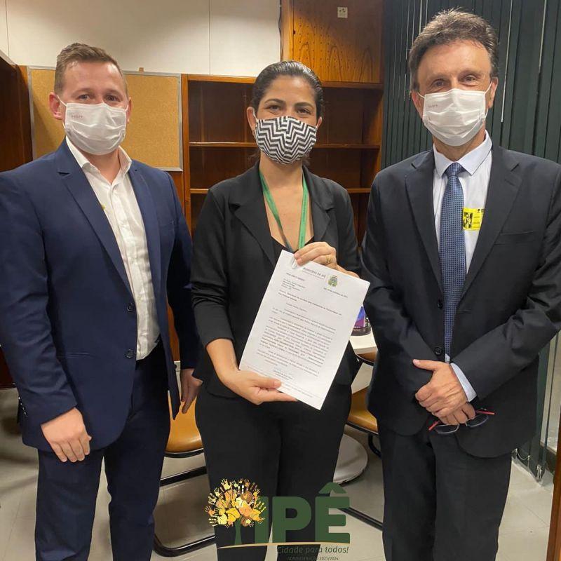 Foto de capa da notícia ADMINISTRAÇÃO BUSCA RECURSOS EM BRASÍLIA