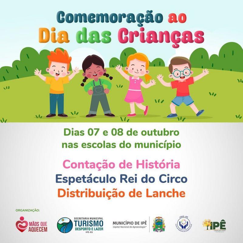 Foto de capa da notícia DIA DAS CRIANÇAS
