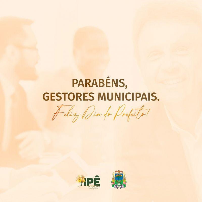 Foto de capa da notícia HOJE É DIA DO PREFEITO