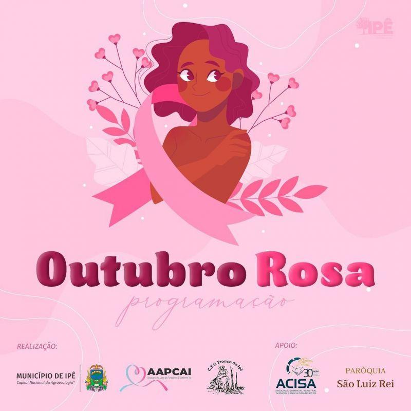 Foto de capa da notícia: OUTUBRO ROSA TEM PROGRAMAÇÃO ESPECIAL