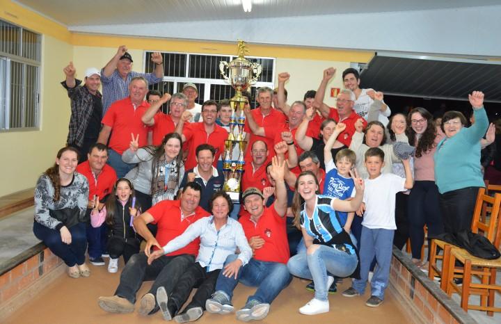 Em 2017 o Acioli venceu o Cerro Largo e ficou com o bicampeonato