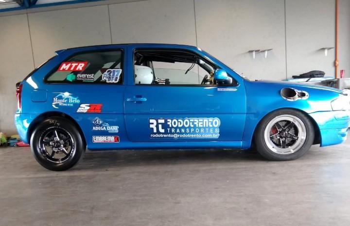 Carro da Equipe Rafinha Racing, que representa o Município de Flores da Cunha na modalidade