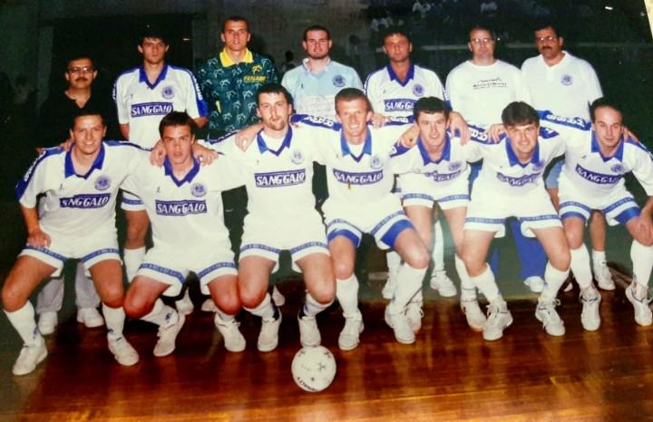 A equipe da AABB é a maior vencedora do futsal florense com dez conquistas