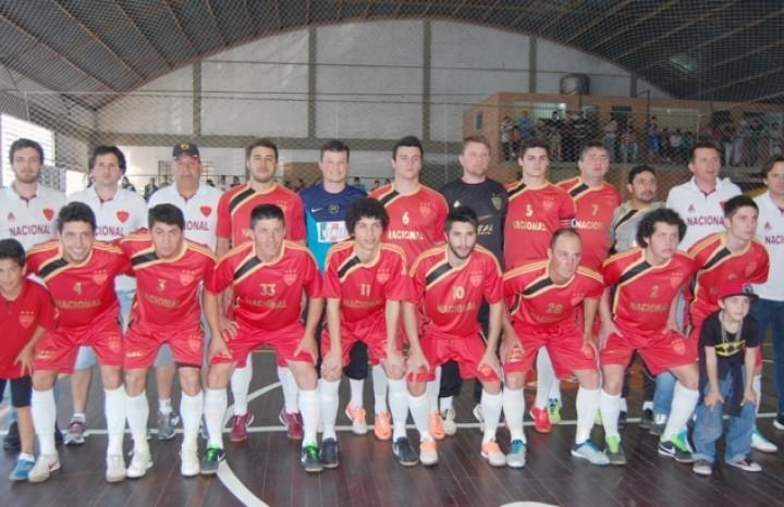 Em 2014 o Nacional derrotou o Broca 18 por 3x1 e assegurou o pentacampeonato do Citadino de Flores da Cunha