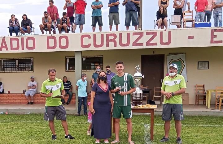 Vinicius Spaniol, do E.C Gaúcho, foi eleito o  Atleta Destaque do certame