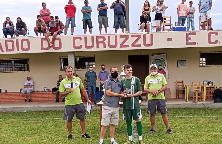 Willian Spaniol, do Gaúcho, foi eleito o Atleta Revelação da competição