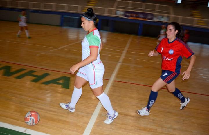Futsal Feminino é uma das competições organizadas pelo DMD de Flores da Cunha