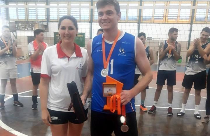 Daniel Casagranda foi eleito o atleta destaque da competição