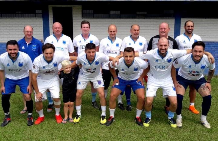 Equipe do C.E.R Cruzeiro comandada por Índio