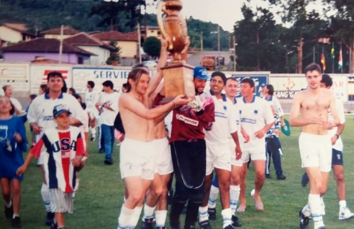 Em 1996, o Cruzeiro conquistava o 9º título municipal
