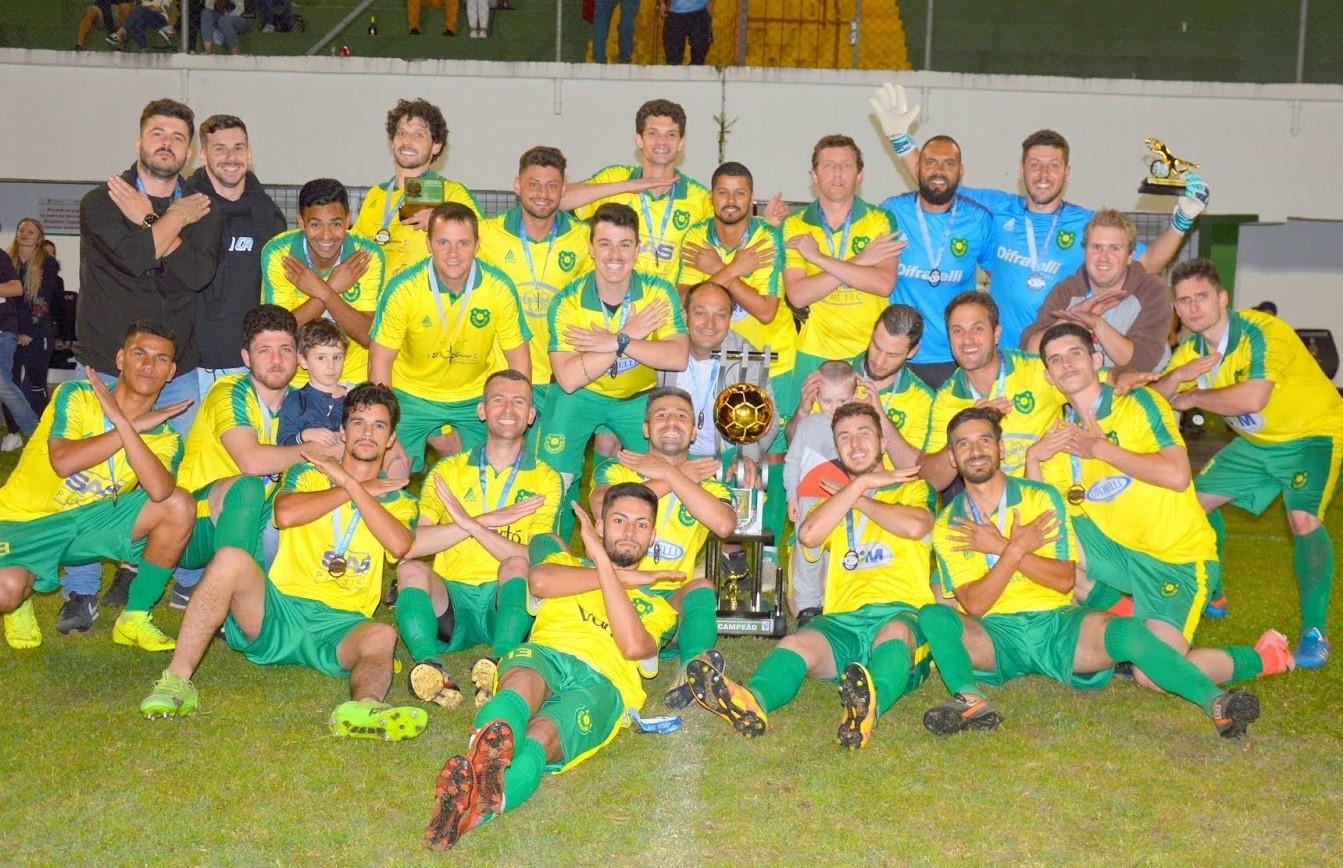 São Cristóvão conquista o 9º título do futebol de campo de Flores da Cunha