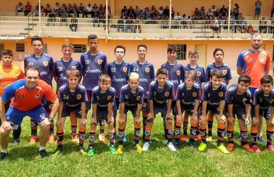 Sub 13 do Galo F.C perde e termina com o vice na Copa F7 de Futebol 7