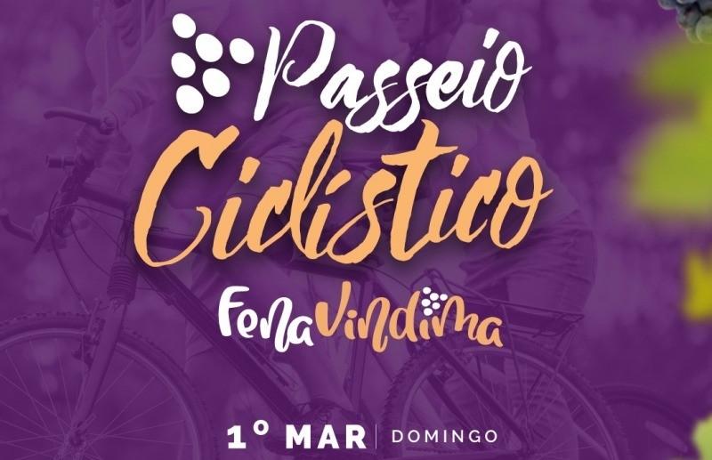Estão abertas as inscrições para o passeio ciclístico da FenaVindima
