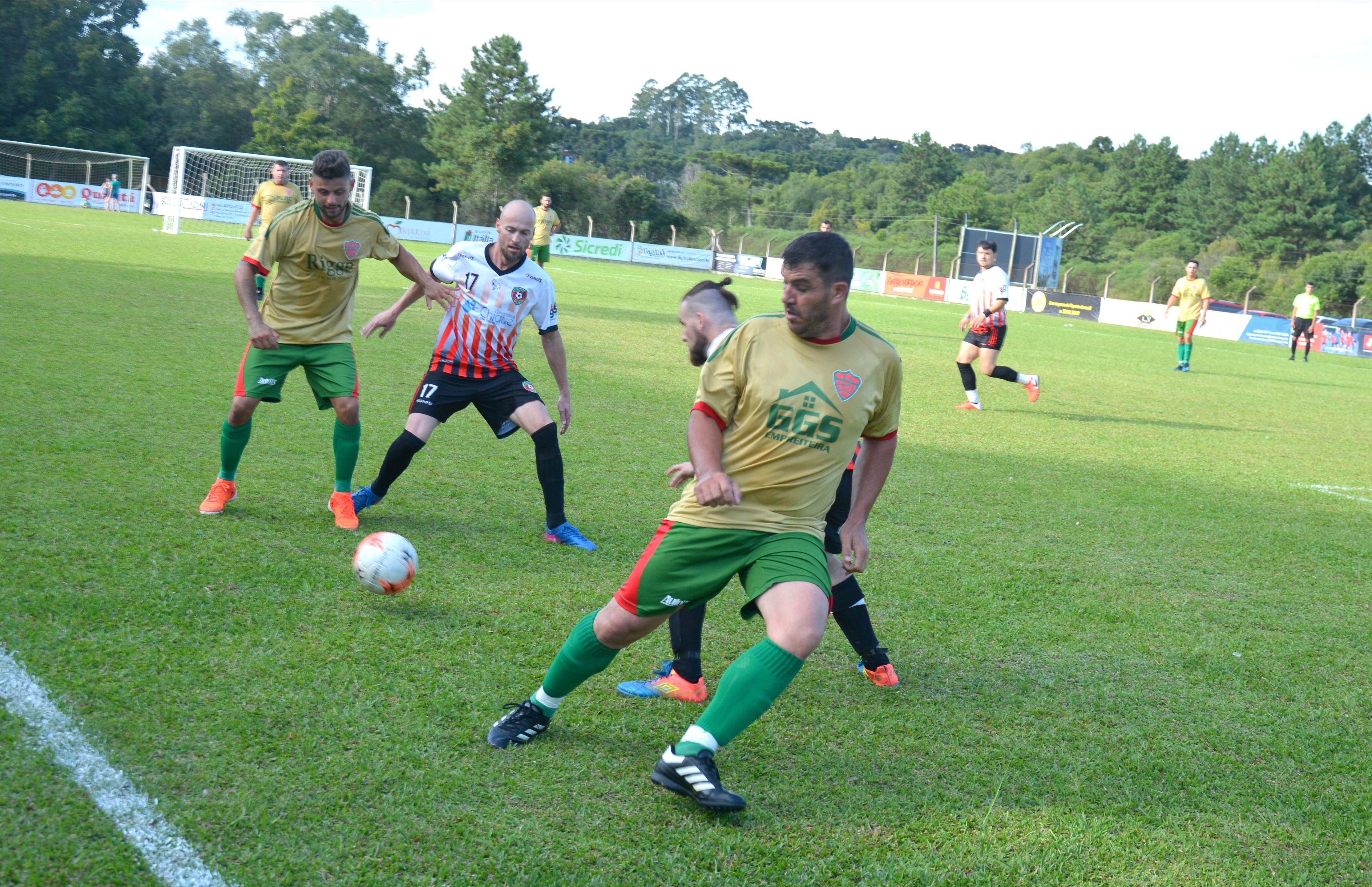 Definidos os confrontos da Série Ouro e Prata do futebol 7 de Flores da Cunha