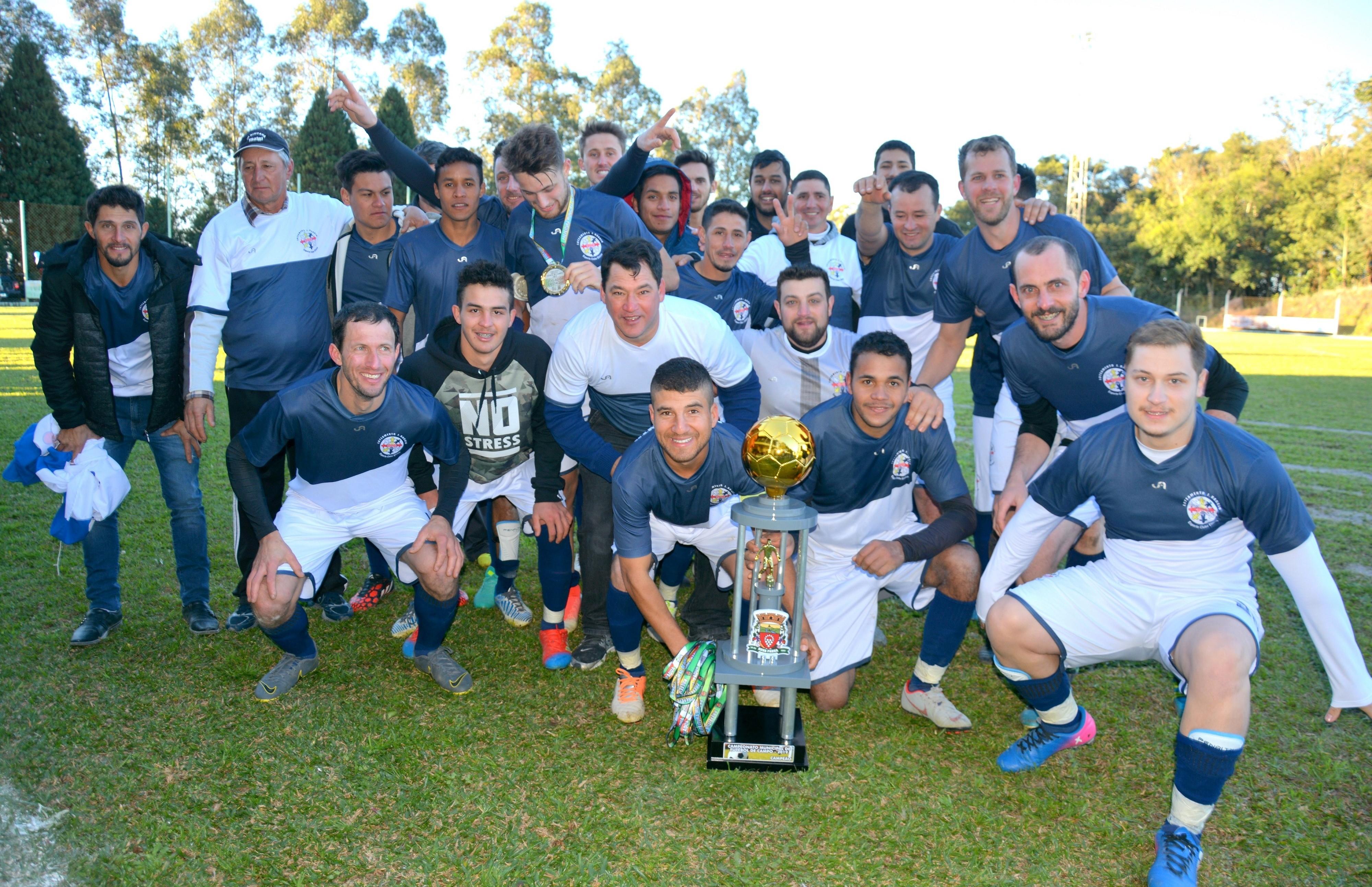 Loteamento Jorge Baggio disputará a 7ª Copa Vales da Serra de Futebol de Campo