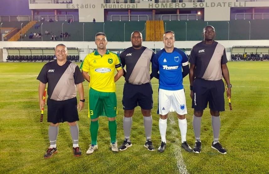 São Cristóvão e Palmeiras fazem a final da Copa FenaVindima de futebol de campo principal