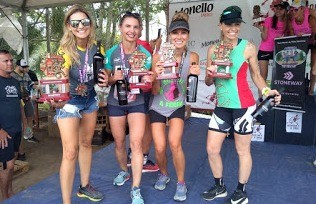 Atletas do Power Runners disputaram a Maratona do Vinho de Bento Gonçalves