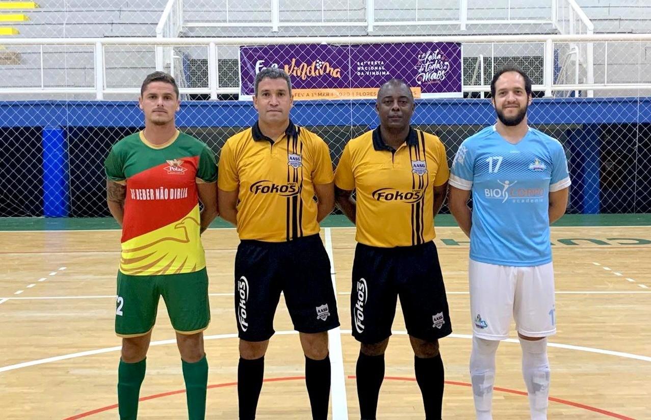 Três equipes lideram a chave A da Copa FenaVindima de futsal masculino