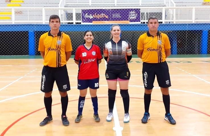 União Feminina/Pedancino e 1º de Maio goleiam na rodada do futsal feminino
