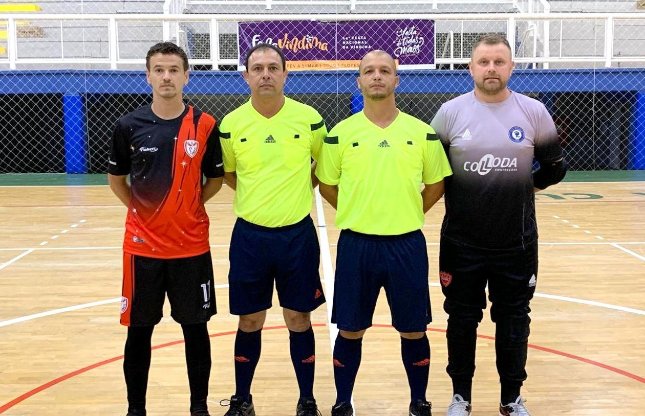 Fênix e Fronteira vencem na rodada da Copa FenaVindima de futsal masculino