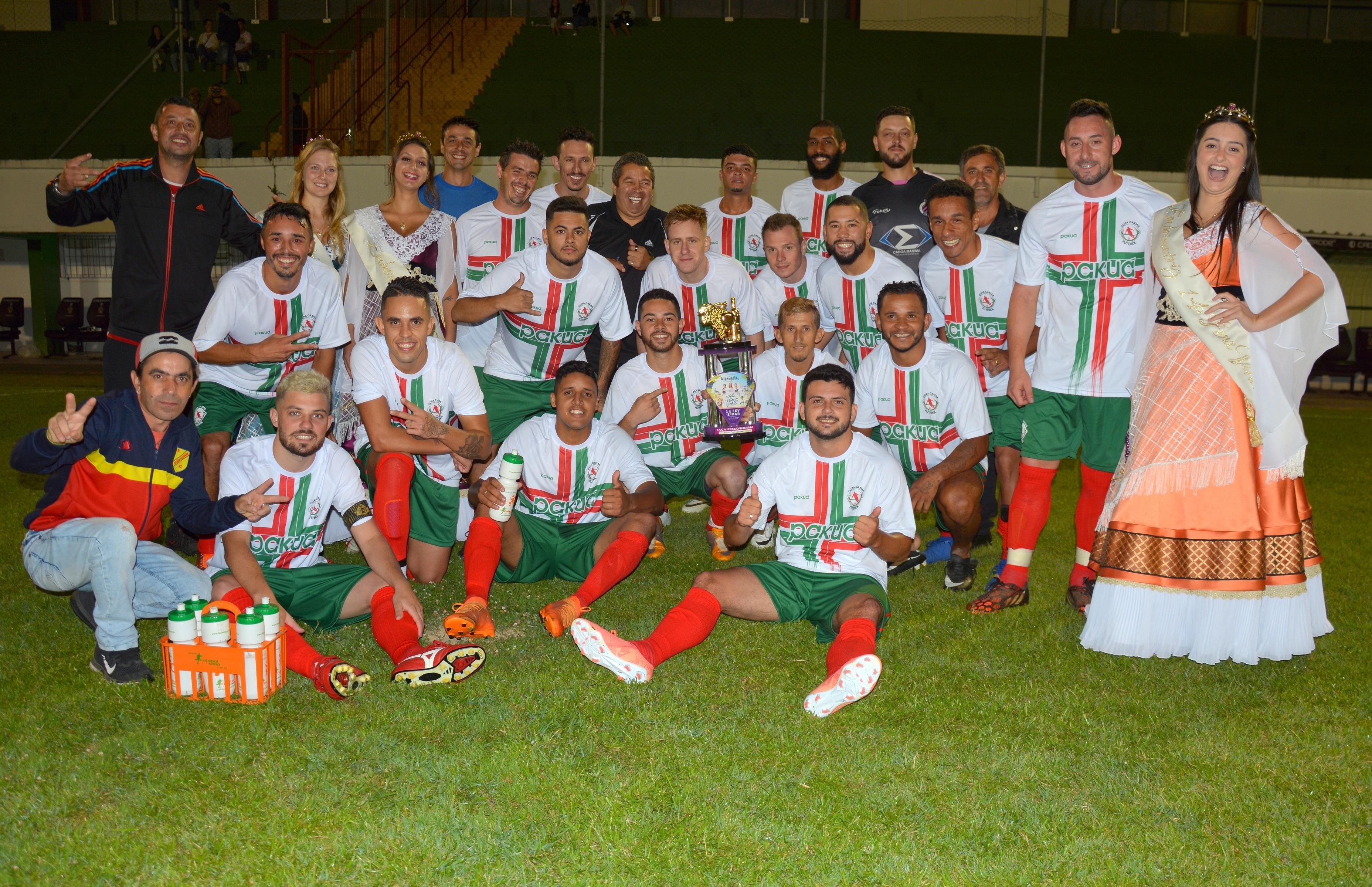 De virada, seleção da Copa Caxias vence e fica com o troféu da Copa FenaVindima